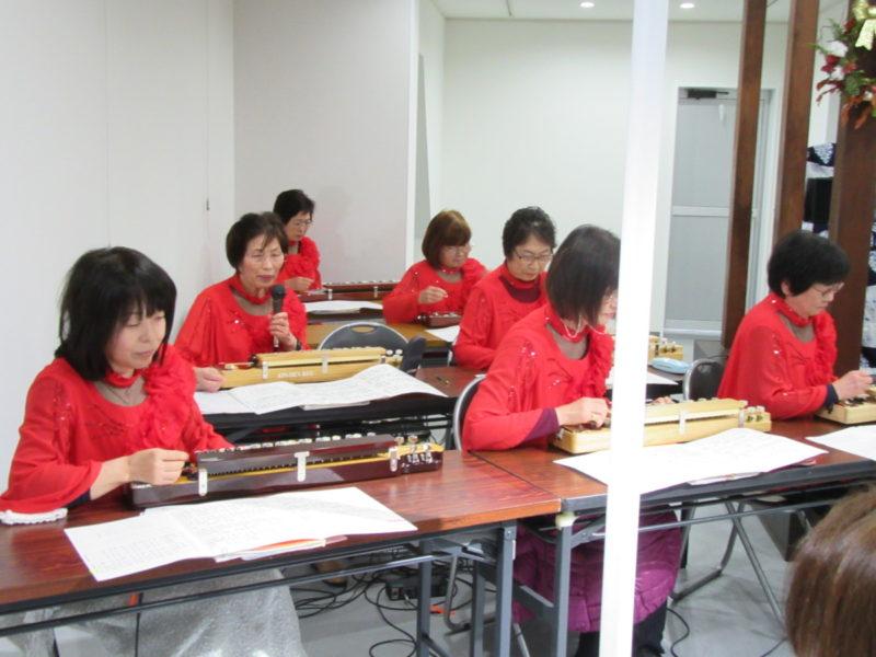 大正琴ミニコンサート 盛会でした!